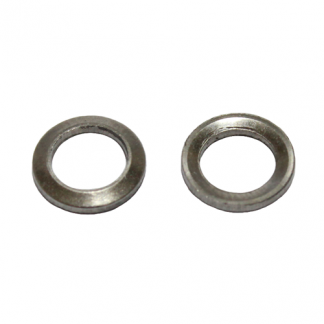 Stainless washers for external nipples